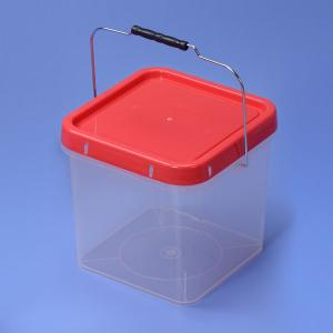 10L Plastic Square bucket